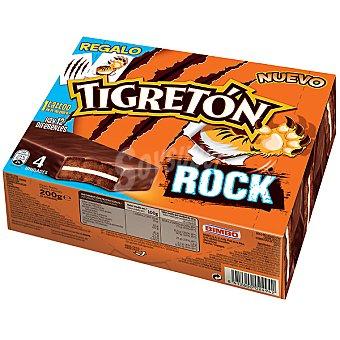Bimbo Tigretón rock paquete 200 g 4 unidades