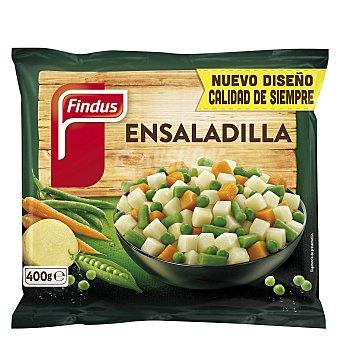 Findus Ensaladilla de patata, zanahoria, judía verde redonda y guisantes Bolsa 400 g