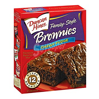 Ducan Hines Preparado brownie chocolate 558 g
