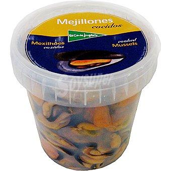 El Corte Inglés Mejillones frescos cocidos sin concha Tarrina 500 g
