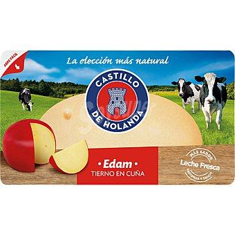 Castillo de Holanda queso edam tierno cuña 310 g