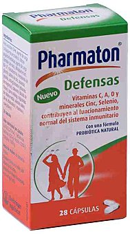 PHARMATON Pharmaton Defensas 28 ud