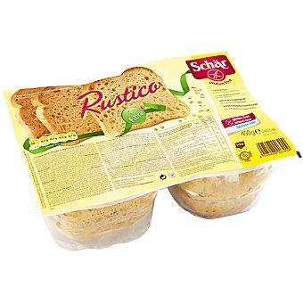 Schär pan rústico con cereales sin gluten Envase 450 g