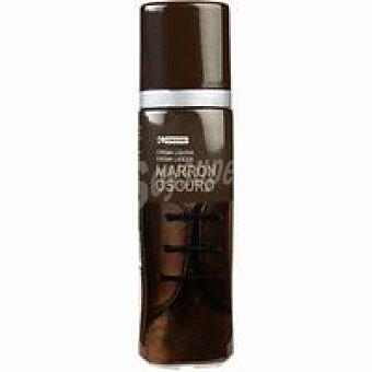 Eroski Crema liq. marrón oscurro para calzado 1 ud