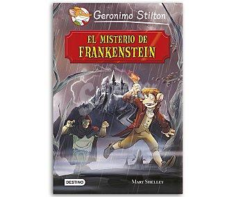 Destino El misterio de Frankenstein, grandes historias de Geronimo Stilton, vv.aa. Género: infantil, juvenil. Editorial Destino