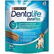 Snack dental para perro pequeño Purina Dentalife Duraplus 170 g. 5 unidades Purina Dentalife
