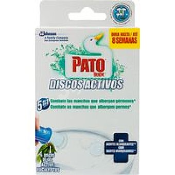 Pato Discos activos blanqueantes Aparato + 6 Discos