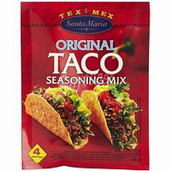 Santa Maria Taco Seasoning Mix Bolsa 40 g