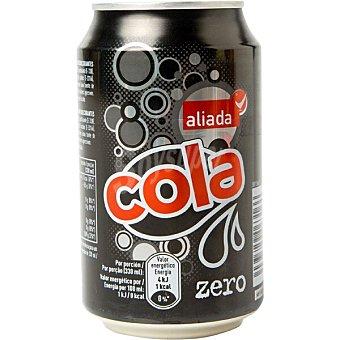 Aliada refresco de cola zero lata 33 cl