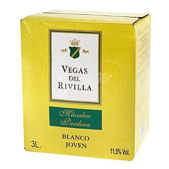 Vegas del Rivilla Vino blanco 3 l
