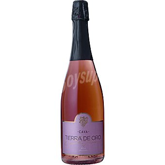 TIERRA DE ORO Cava brut rosado elaborado  botella 75 cl