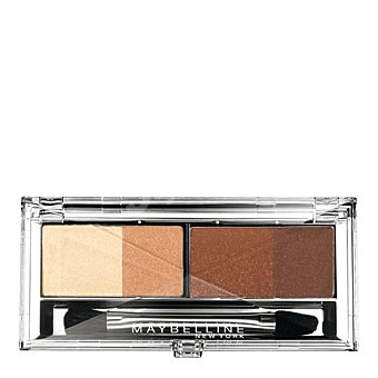 Maybelline New York Sombra ojos eye studio quads 05 glamour marrons 1 ud