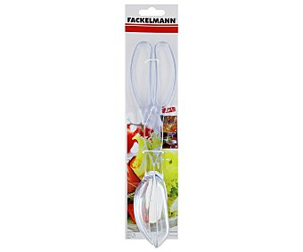 Fackelmann Pinzas para ensalada, 28 centímetros 1 Unidad