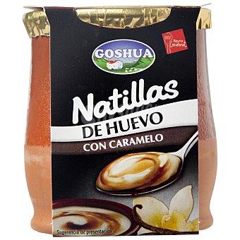 Goshua Natillas de huevo con caramelo Tarro de 140 g