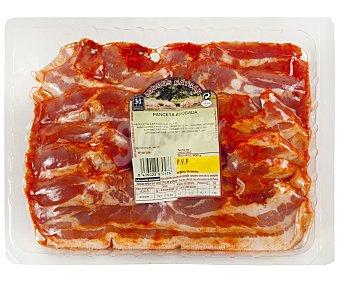 Caysan Panceta de cerdo adobada cortada en lonchas, sin gluten y sin lactosa 400 g