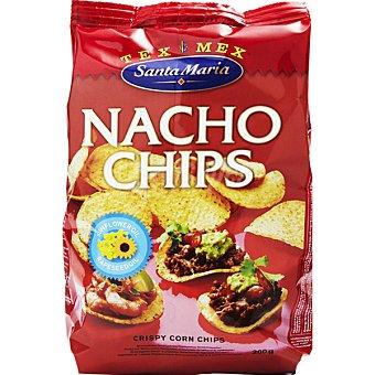 SANTA MARIA Nachos chips naturales bolsa 200 g