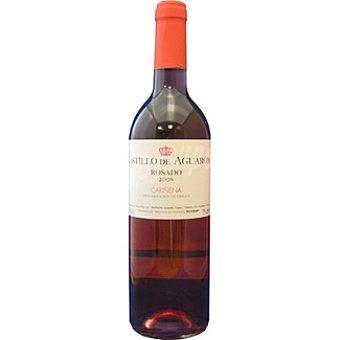 Castillo de aguaron Vino rosado de Aragón D.O. Cariñena elaborado para grupo El Corte Inglés Botella 75 cl