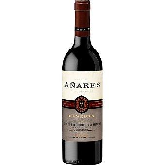 Bodegas Olarra Vino tinto rioja D.O. Añares reserva Botella 75 cl