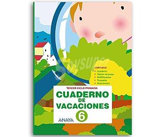 Anaya Cuaderno Vacaciones 6º 1 Unidad