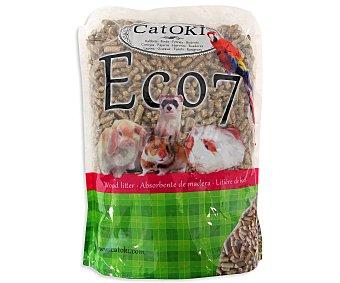 ECO-7 de CATOKI Absorbente Conejo Hamster Cobaya y Gato 5 Litros