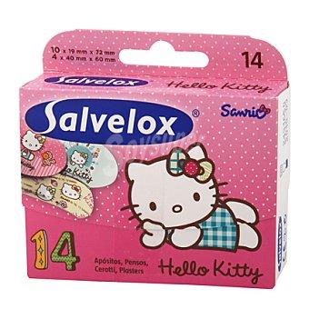 Salvelox Apósito Hello Kitty 14 ud
