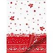Mantel decorado Navidad 140X220 cm 1 unidad Touch red