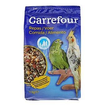 Carrefour Comida periquitos y loros 1 kg