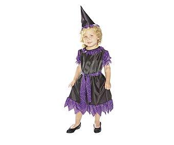 HAUNTED HOUSE Disfraz infantil Bruja Púrpura 1 unidad