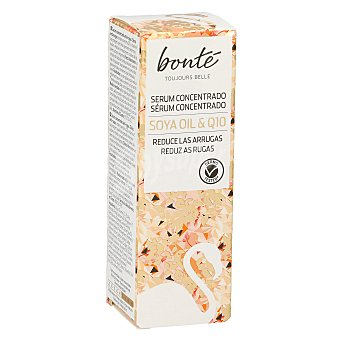Bonté Serum concentrado Q10 antiarrugas con aceite de soya Dosificador 30 ml
