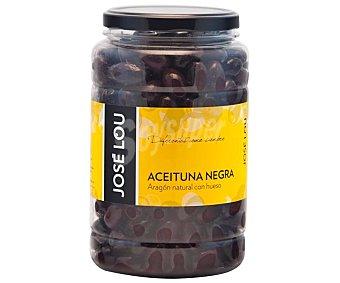Hijos de José Lou Aceitunas negras con hueso Frasco de 900 g