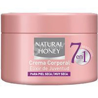 Natural Honey Crema corporal 7 beneficios Tarro 250 ml