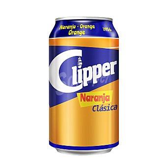 Clipper Refresco de naranja Lata 33 cl