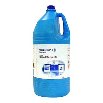 Carrefour Discount Lejía con detergente Botella de 5 L