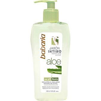 Babaria Jabon intimo Aloe Vera con pH neutro Dosificador 400 ml