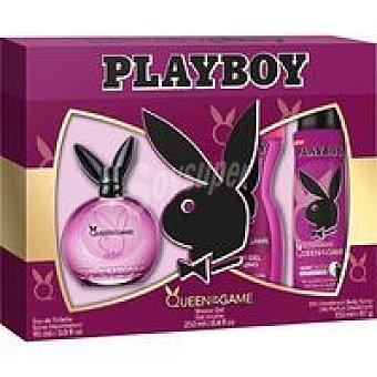 Playboy Fragrances Colonia para mujer-desodorante-gel Queen Pack 1 unid