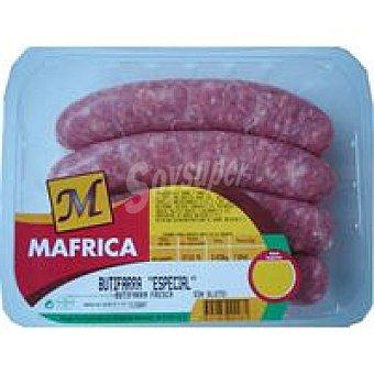 Mafrica Botifarra especial Bandeja 500 g