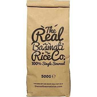 THE REAL BASMATI RICECO Arroz basmati paquete 500 g paquete 500 g