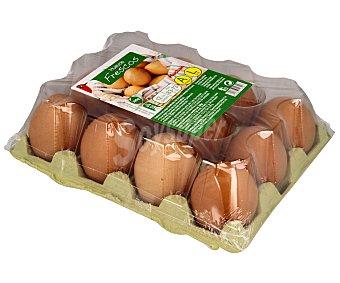 Auchan Huevos frescos de categoria A y clase L 12 uds