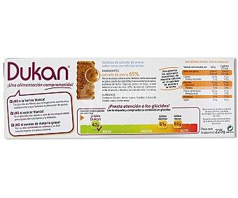 Dieta Dunkan Galletas de salvado de avena sabor coco Envase 225 g