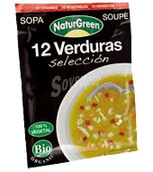 Naturgreen Sopa 12 verduras selección 40 g