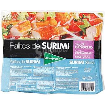 El Corte Inglés Palitos de surimi sabor cangrejos Bolsa 450 g
