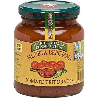 IBSA HUERTA BERCIANA Tomate natural triturado ecológico Frasco 350 g