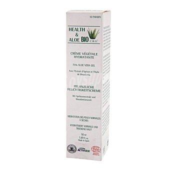 Health & Aloe Bio Crema hidratante vegetal con Aloe Vera 50 ml