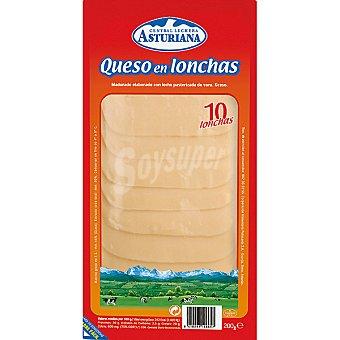 Central Lechera Asturiana Queso en lonchas Bandeja 180 g