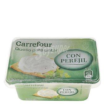 Carrefour Queso de untar con perejil 300 G 300 g