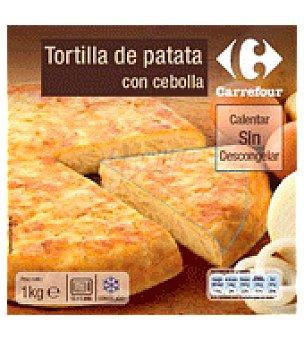 Carrefour Tortilla de patata con cebolla 1 kg