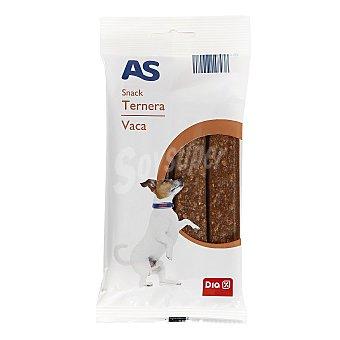 AS Snack para perros ternera Bolsa 12 uds