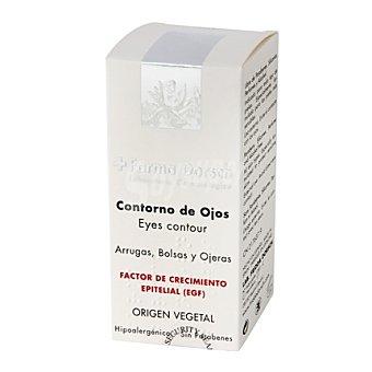 Farma Dorsch Contorno de ojos (para arrugas, bolsas y ojeras). Factor de crecimiento epitelial 15 Mililitros
