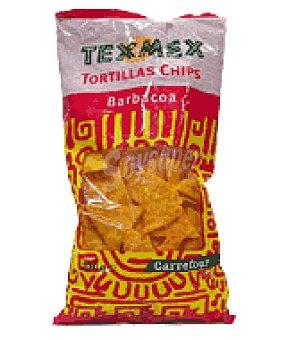 Carrefour Tortiillas chips Tex Mex con sabor a barbacoa 200 g