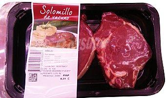 Varios Vacuno añojo solomillo filete fresco Bandeja 300 g aprox